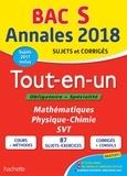Sandrine Bodini-Lefranc et Sandrine Dubois - Tout-en-un Tle S - Sujets et corrigés.