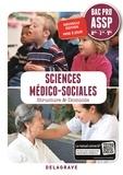 Sandrine Bornerie et Michèle Dijeaux - Sciences médico-sociales 2de-1re-Tle Bac Pro ASSP - Pochette élève.