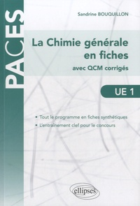 UE1 : La Chimie générale en fiches - Avec QCM corrigés.pdf