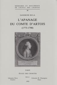 Corridashivernales.be L'apanage du comte d'Artois (1773-1790) Image