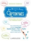 Sandrine Campese - Petit dictionnaire insolite des aptonymes.
