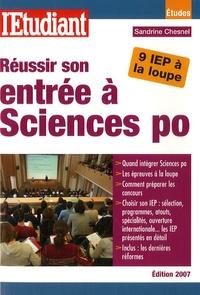 Sandrine Chesnel - Réussir son entrée à Sciences Po.