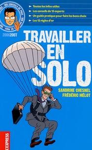 Sandrine Chesnel et Frédéric Mélot - Travailler en solo.