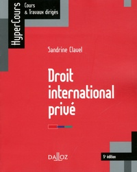 Téléchargement de livres gratuitement Droit international privé 9782247178353 par Sandrine Clavel