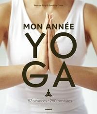 Sandrine Cossé et Béatrice Bürgi - Mon année yoga - 52 séances, 250 postures.