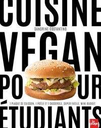 Sandrine Costantino - Cuisine vegan pour étudiants.