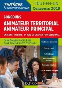 Sandrine Dumont et Stéphane Voisin - Concours Animateur territorial Animateur territorial principal - Externe, interne, 3e voie et examen professionnel.