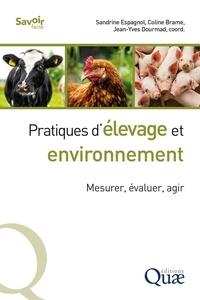 Sandrine Espagnol et Coline Brame - Pratiques d'élevage et environnement - Mesurer, évaluer, agir.