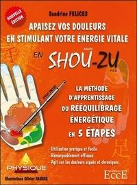 Sandrine Felices et Olivier Fausse - Apaisez vos douleurs en stimulant votre énergie vitale en Shou-Zu - La méthode d'aprentissage du rééquilibrage énergétique en 5 étapes.
