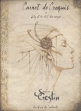 Sandrine Gestin - Carnet de croquis ou Lily et la clef des songes.