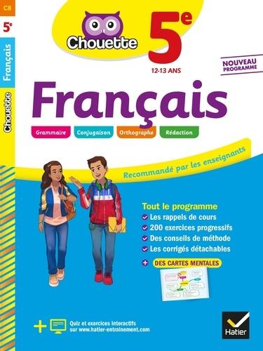 Sandrine Girard et Thierry Marquetty - Français 5e - cahier d'entraînement et de révision.