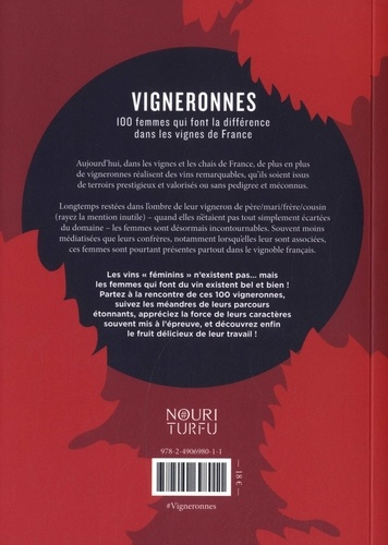 Vigneronnes. 100 femmes qui font la différence dans les vignes de France