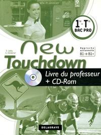 Sandrine Holdener - Anglais 1e Tle Bac Pro New Touchdown - Livre du professeur. 1 Cédérom