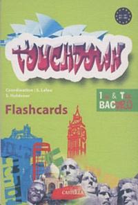 Sandrine Holdener et Sophie Leleu - Touchdown - Flashcards 1e et Tle Bac Pro.