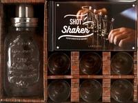 Sandrine Houdré-Grégoire et Matthias Giroud - Shot shaker, plus de 30 recettes de cocktails - Avec 1 shaker et 6 verres à shot.