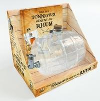Tous les tonneaux mènent au rhum- Coffret livre + tonneau en verre - Sandrine Houdré-Grégoire |