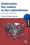 Sandrine Kott et Stéphane Michonneau - Initial - Dictionnaire des nations et des nationalismes.