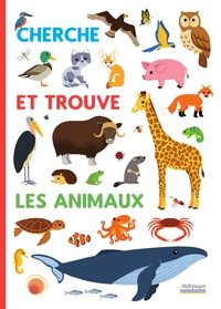 Sandrine Lamour - Cherche et trouve Les animaux.