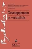 Sandrine Le Sourn-Bissaoui et Gaid Le Maner-Idrissi - Développement et variabilités.