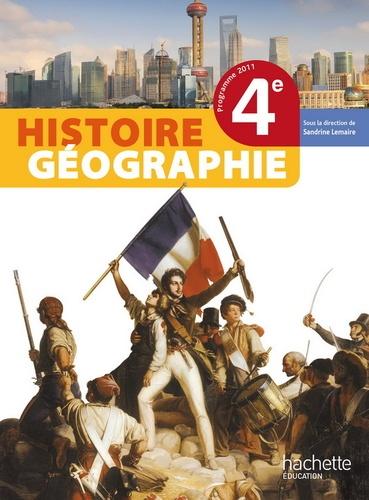 Histoire Geographie 4e Livre De L Eleve Format Compact