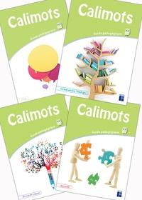 Sandrine Lenoble et Karine Paccard - Calimots CP - Guide pédagogique 4 volumes : Comprendre/Rédiger ; Ecrire et copier ; Décoder ; S'exprimer à l'oral.