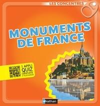 Sandrine Mirza et Vincent Desplanche - LES CONCENTRES  : Monuments de France.