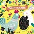 Sandrine Monnier - Cartes à gratter Joyeuses Pâques.