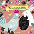 Sandrine Monnier - Cartes à gratter Pâques - Avec 6 cartes et 1 bâtonnet.