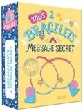 Sandrine Monnier - Mes 2 bracelets à message secret - Avec des pampilles, du fil néon, des perles et un livret pas-à-pas.