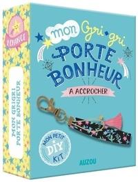 Mon grigri porte bonheur à accrocher- Avec un livret pas-à-pas, du fil doré, 1 porte-clef, du ruban et 1 pampille - Sandrine Monnier | Showmesound.org
