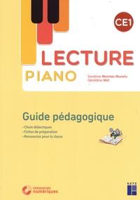 Sandrine Monnier-Murariu et Géraldine Mat - Lecture piano CE1 - Guide pédagogique. 1 Cédérom