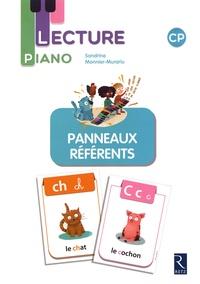 Sandrine Monnier-Murariu - Lecture piano CP - Panneaux référents.