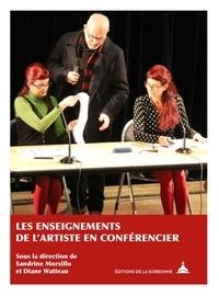 Sandrine Morsillo et Diane Watteau - Les enseignements de l'artiste en conférencier.