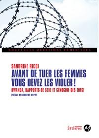 Deedr.fr Avant de tuer les femmes, vous devez les violer! - Rwanda, rapports de sexe et génocide des Tutsi Image