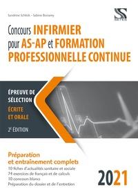 Sandrine Schlick et Sabine Bonamy - Concours infirmier pour AS-AP et formation professionnelle continue.