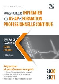 Sandrine Schlick et Sabine Bonamy - Nouveau concours infirmier pour AS-AP et formation professionnelle continue.