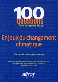 Sandrine Segovia-Kueny - Enjeux du changement climatique.