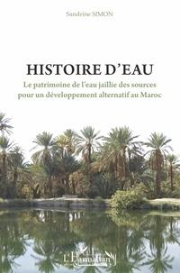 Sandrine Simon - Histoire d'eau - Le patrimoine de l'eau jaillie des sources pour un développement alternatif au Maroc.