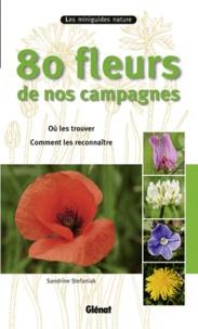 Sandrine Stefaniak - 80 fleurs de nos campagnes.