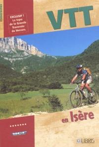 Sandrine Stefaniak et Jean-Paul Rousselet - VTT en Isère.