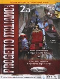 Sandro Magnelli - Nuovo progetto italiano 2a - Libro dello studente. 1 Cédérom + 1 CD audio