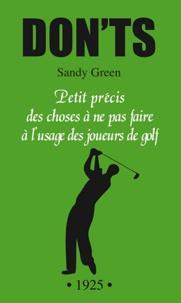 Donts petits précis des choses à ne pas faire à lusage des joueurs de golf.pdf