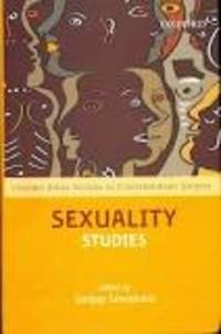Sanjay Srivastava - Sexuality Studies.