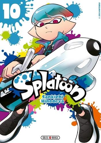 Sankichi Hinodeya - Splatoon Tome 10 : .