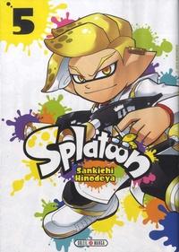 Sankichi Hinodeya - Splatoon Tome 5 : .