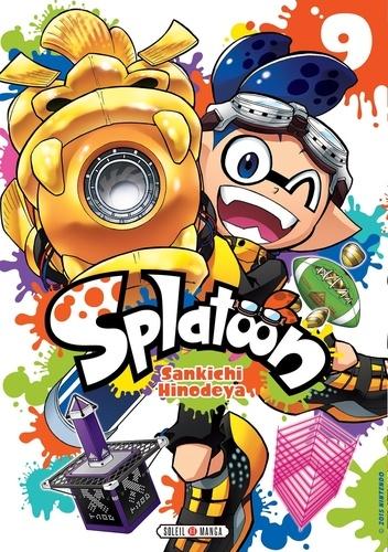 Sankichi Hinodeya - Splatoon Tome 9 : .