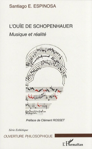 Santiago Espinosa - L'ouïe de Schopenhauer - Musique et réalité.