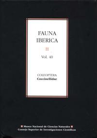 Histoiresdenlire.be Fauna ibérica - Volumen 40: Coleoptera: Coccinellidae Image