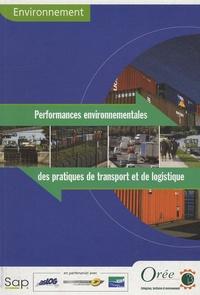 SAP Editions - Performances environnementales des pratiques de transport et de logistique.