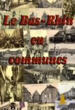 Sapin d'Or Editions - Le Bas-Rhin en communes.